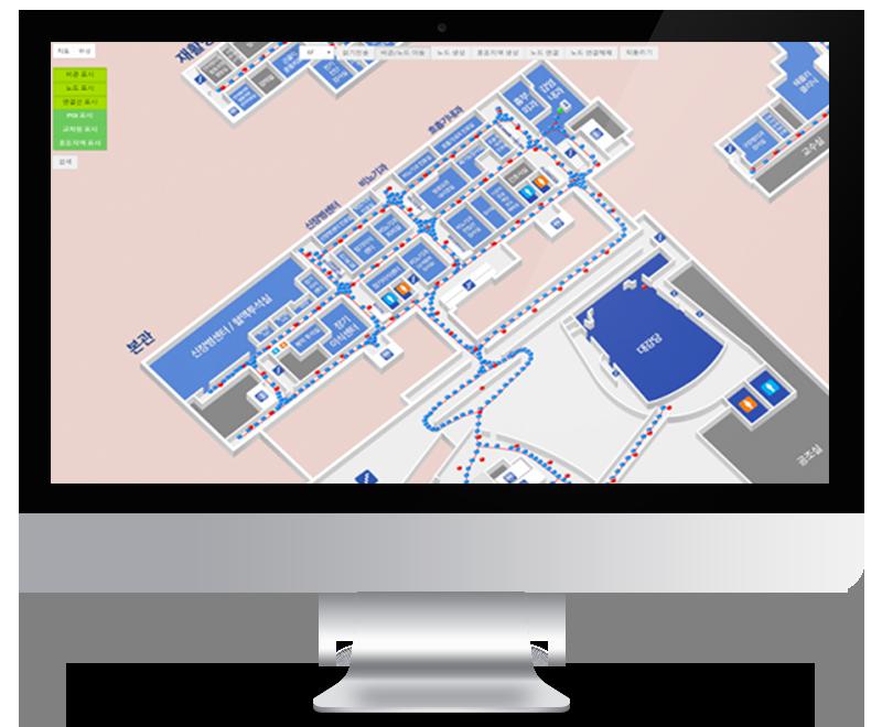 IndoorPlus LBS Severance Hospital Indoornavigation PEOPLE AND TECHNOLOGY Beacon RTLS and Indoor LBS