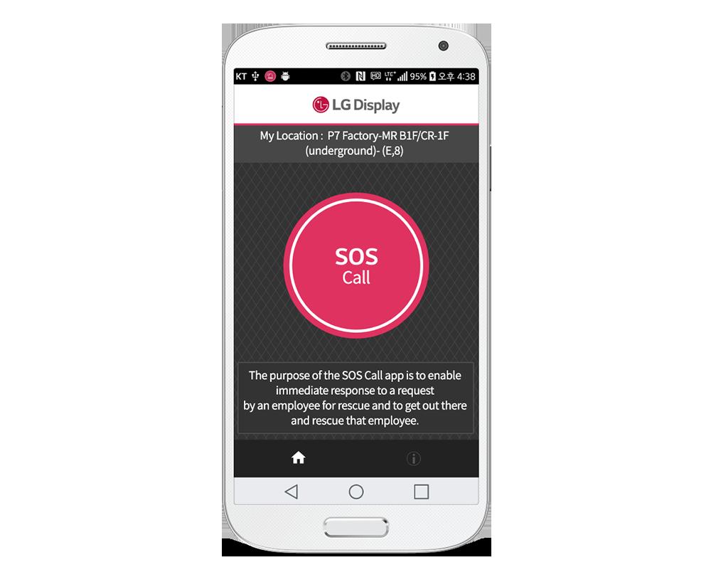 IndoorPlus LBS LG Display RTLS App PEOPLE AND TECHNOLOGY Beacon RTLS and Indoor LBS